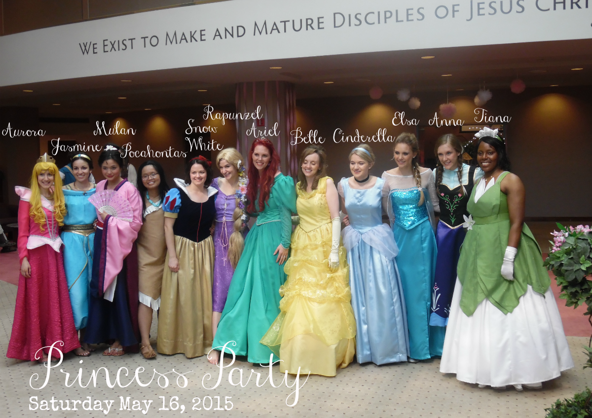 disney princess party 2015 – at home with zan