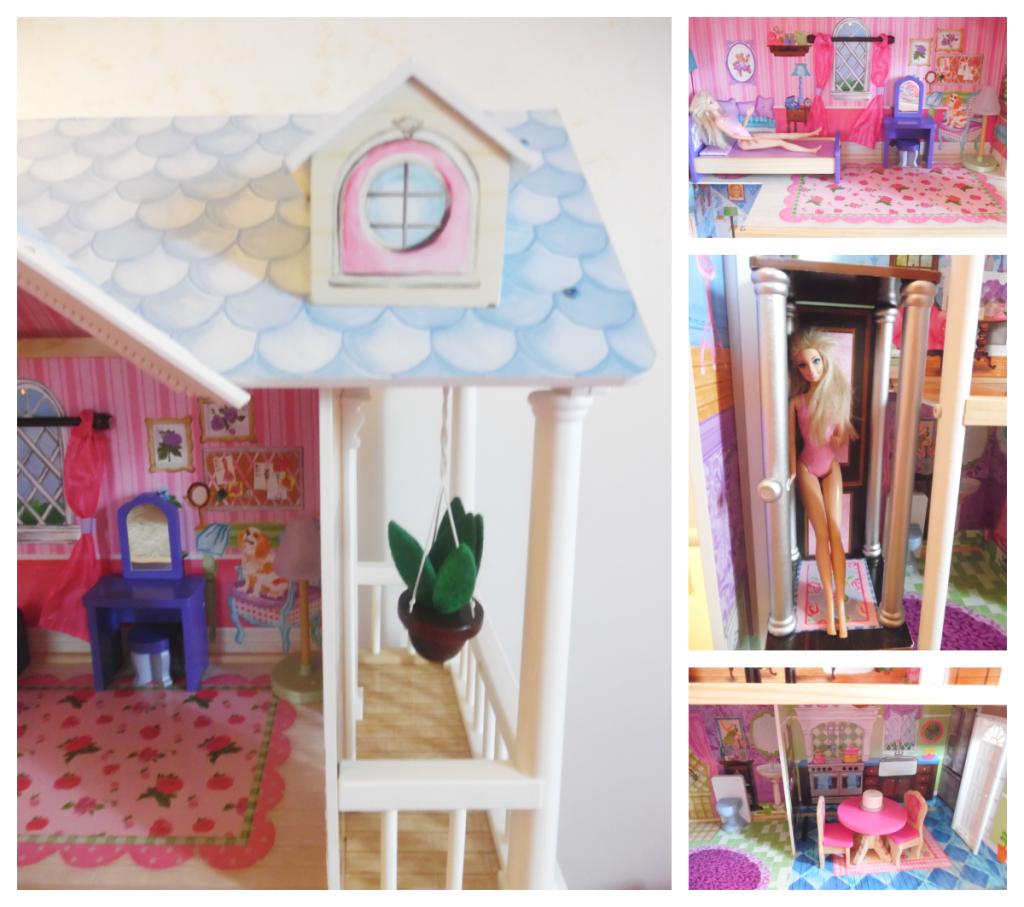 Girls room doll house