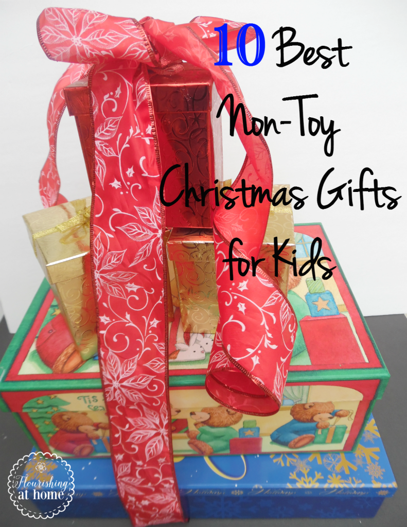 10 of the Best Non-Toy Christmas Gifts for Kids