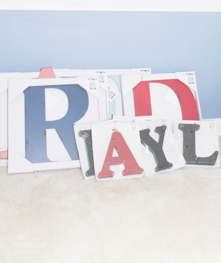 Large Letters for diy project