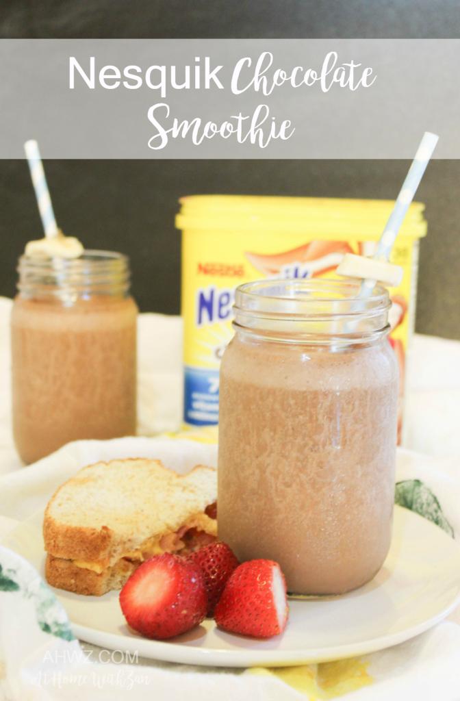 Nesquik Chocolate Smoothie