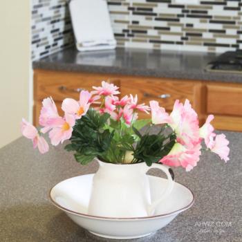 faux-flower-centerpiece