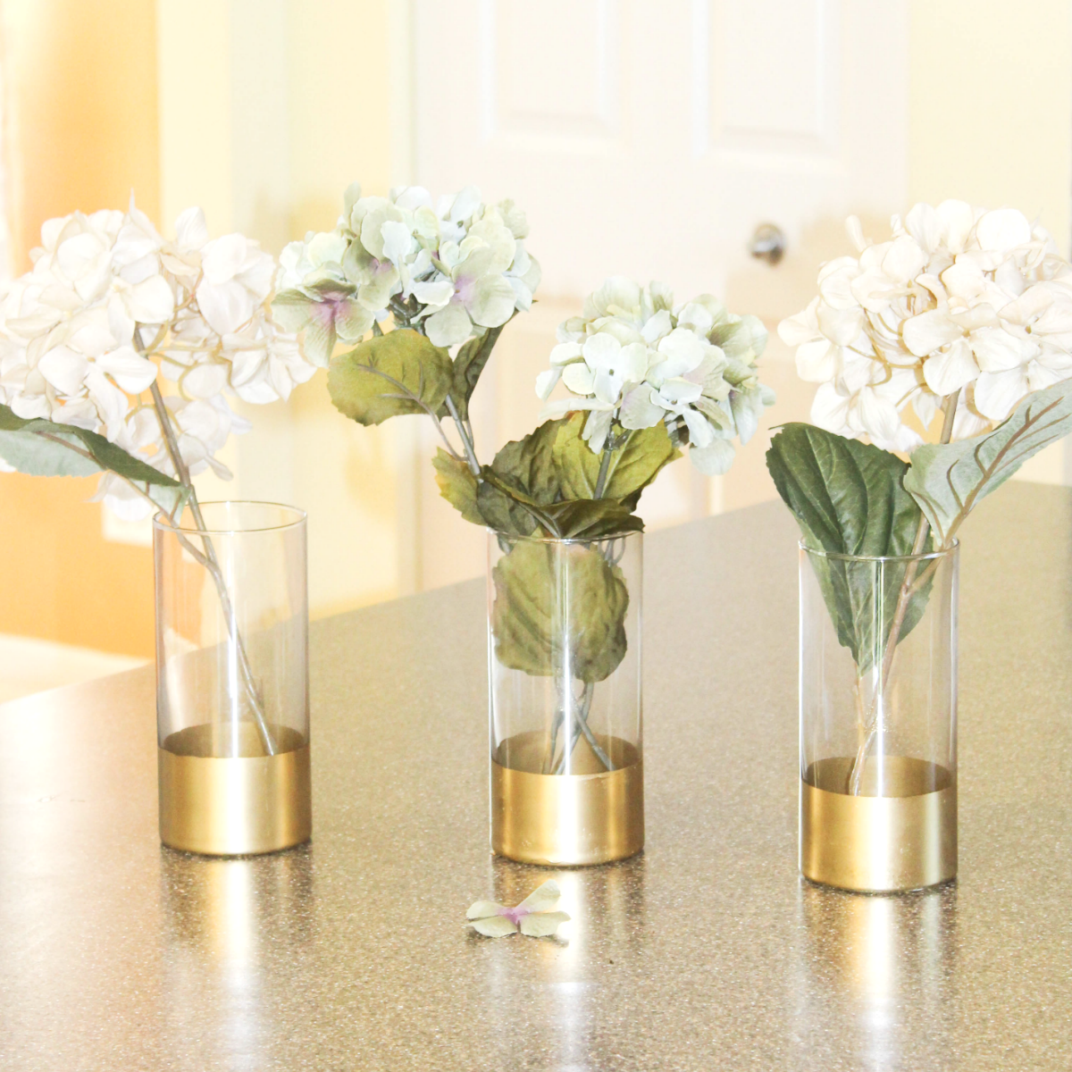 Gold dipped vases at home with zan reviewsmspy