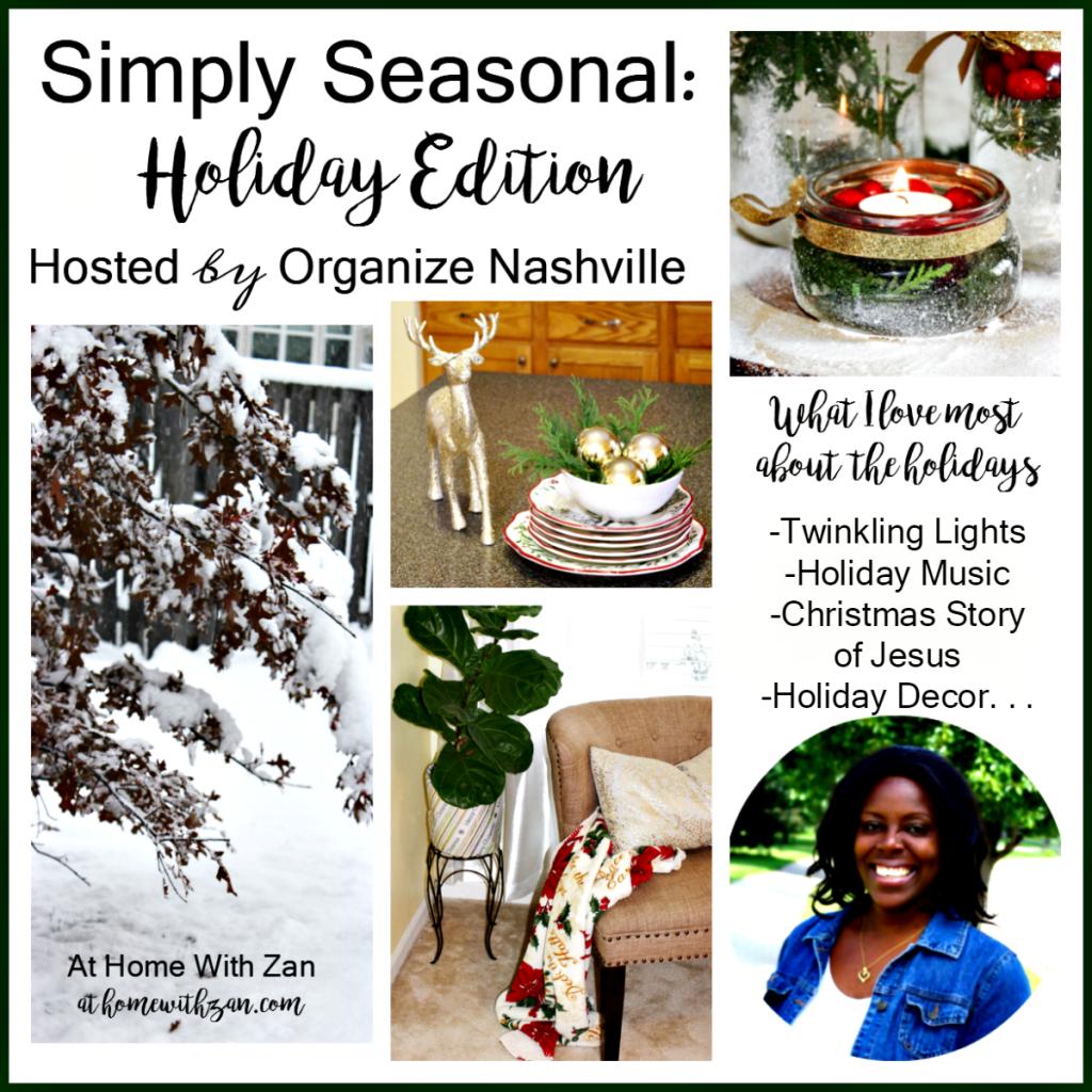 Simply Seasonal: Five Simple Christmas Decorating Ideas