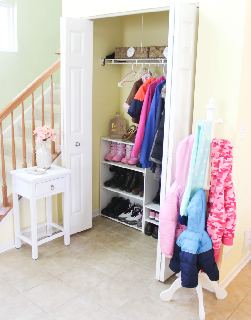 Entryway Organization - front entry