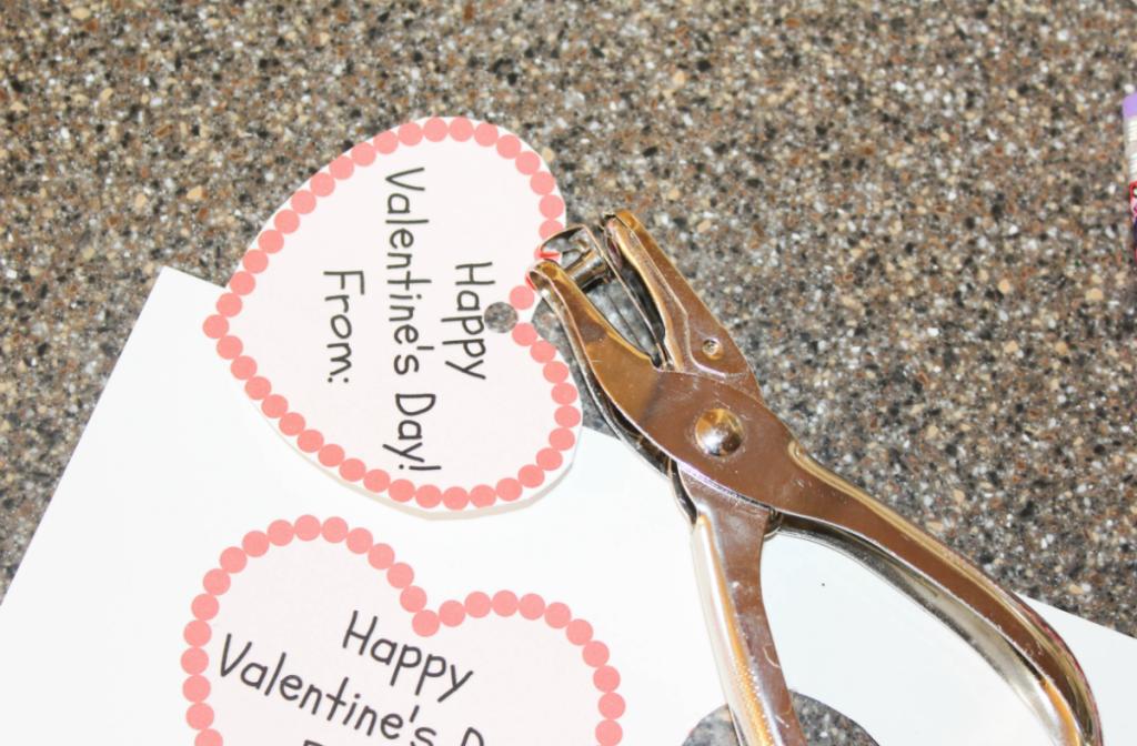 Happy Valentine's Day Heart Printables