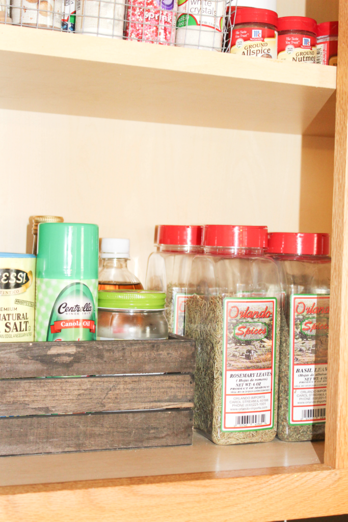 pantry and cupboard organizing