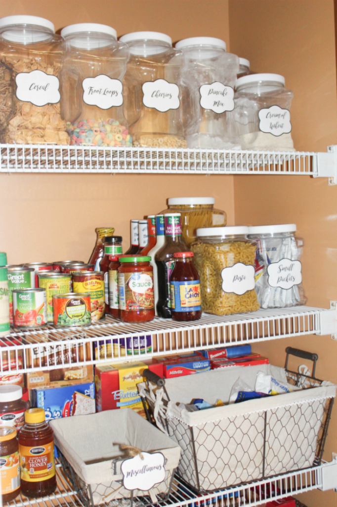 3 Steps to an Organized Pantry - From At Home With Zan -