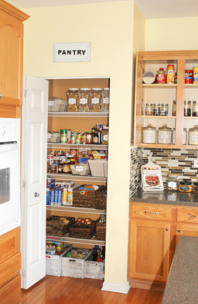 Organized Pantry and Cupboards - At Home With Zan