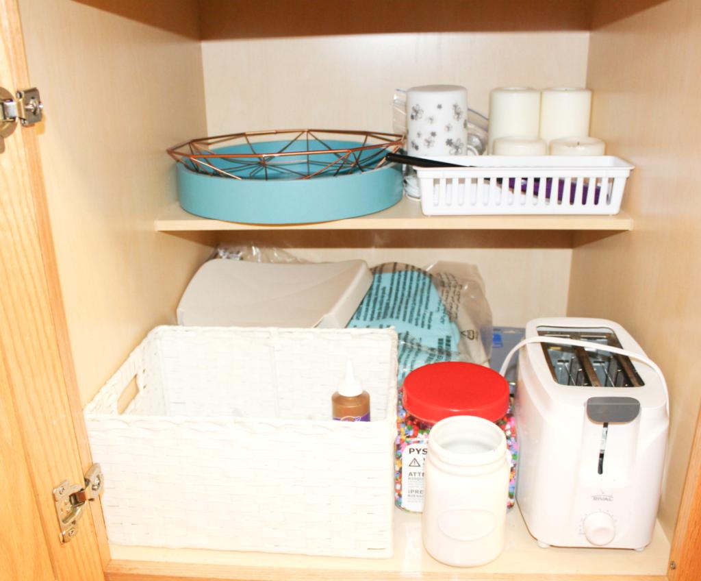 kitchen drawer organization - toaster