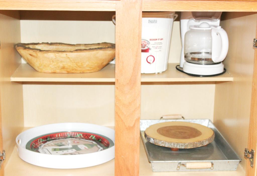 kitchen drawer organization - trays