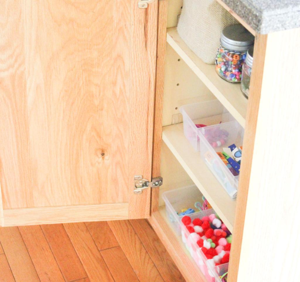 kitchen organization - craft