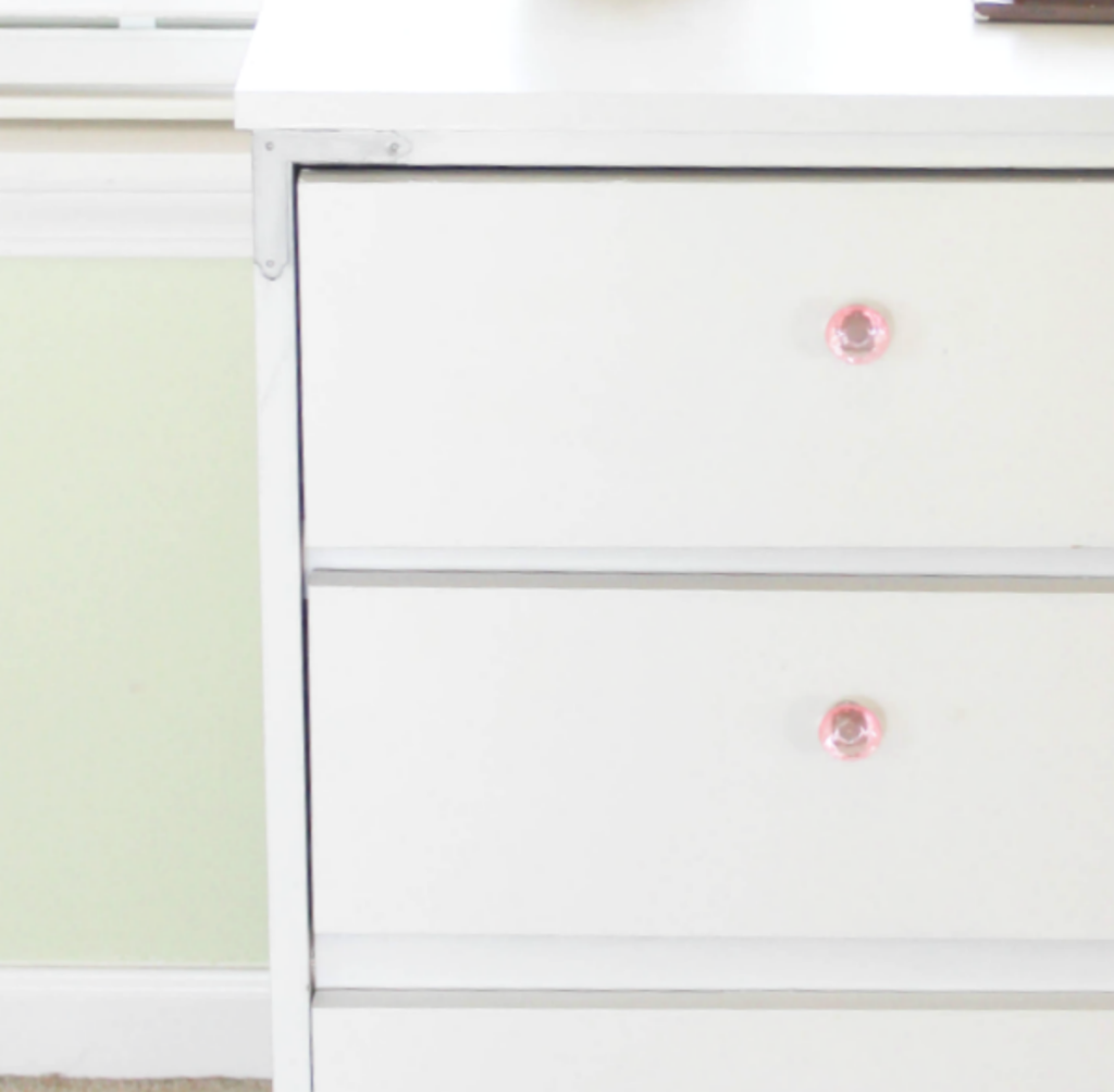 Dresser Makeover - Details - Metal - At Home With Zan