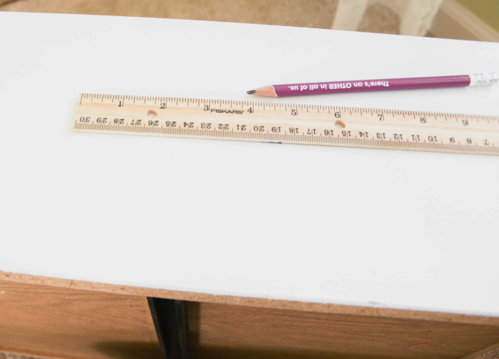 Dresser Makeover - Measuring Drawers - At Home With Zan