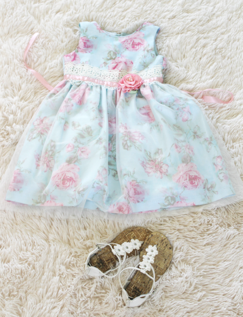 Kids Fashion - Dress and Shoes - At Home With Zan
