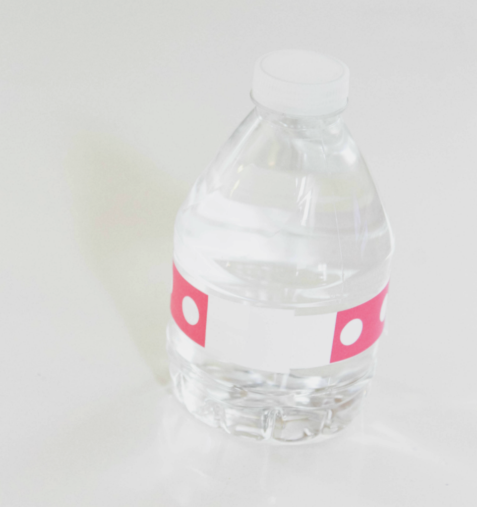 Kindergarten - Graduation - DIY - Dot - Labels for Bottles - Tutorial - At Home With Zan -