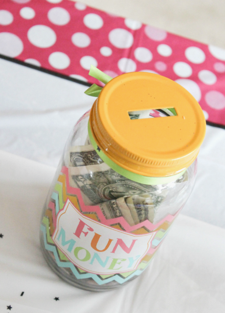 Kindergarten Graduation - Fun Gift Jar - At Home With Zan