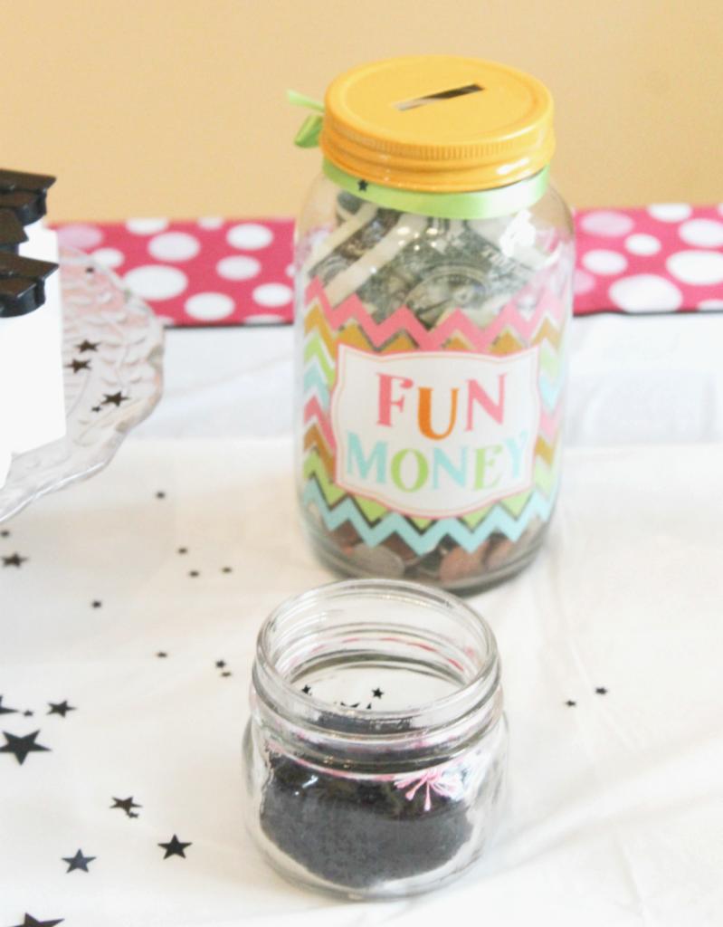 Kindergarten Graduation - Fun Jar for Gift - At Home With Zan