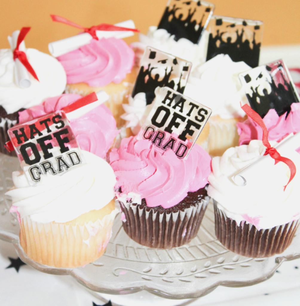 Kindergarten Graduation - Party - Cupcake - At Home With Zan