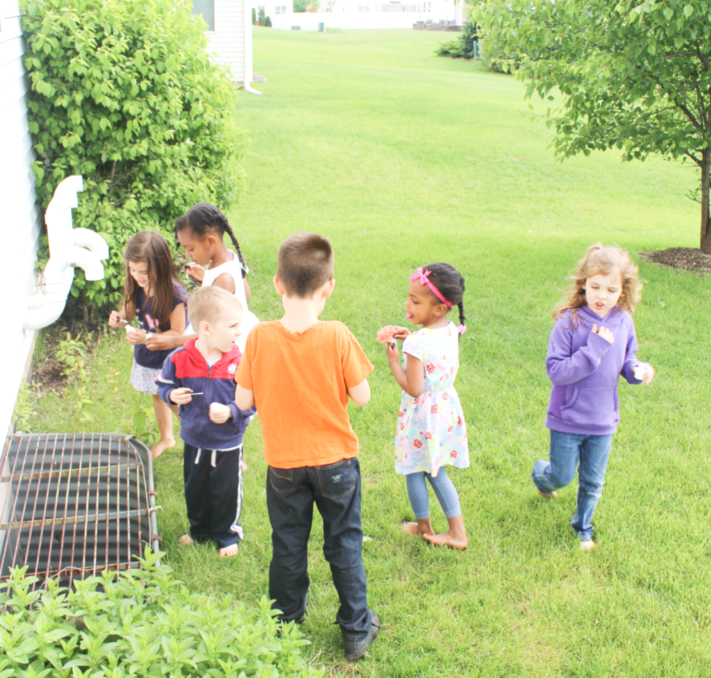 Kindergarten Graduation Party -Kids - Bubbles - At Home With Zan