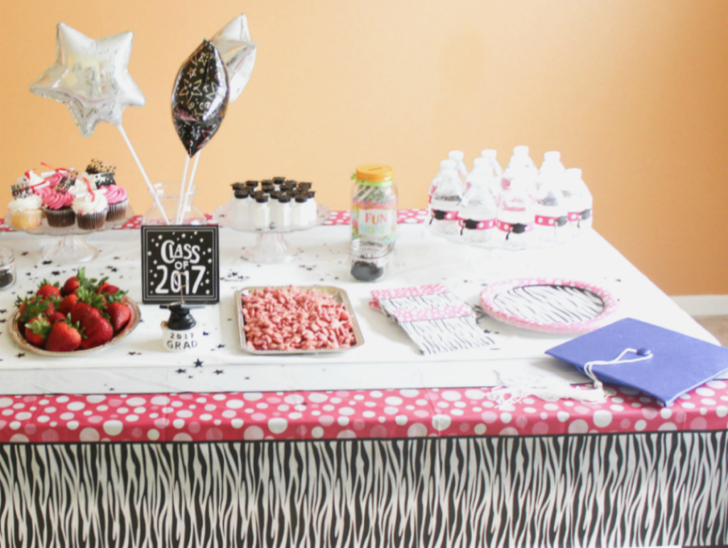 Kindergarten Graduation Party - Table Items - At Home With Zan