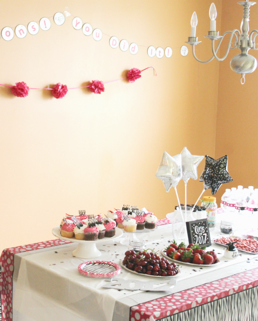 Kindergarten Graduation - Small Party - At Home With Zan -