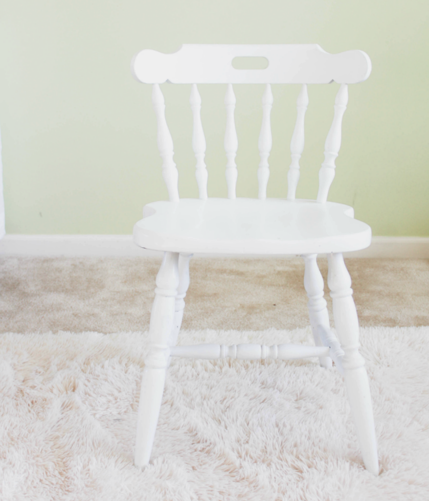 Small - Chair - Makeover - At Home With Zan -
