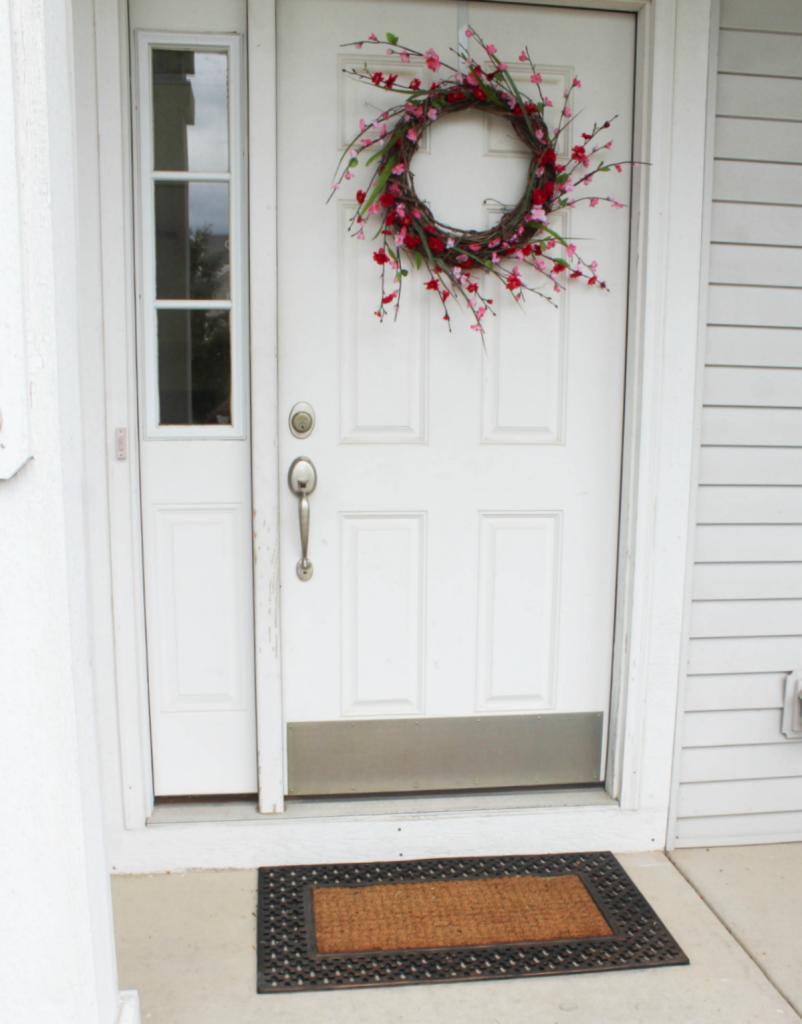 Summer Wreath - Pretty - Spring Wreath - Porch Decor - At Home With Zan-