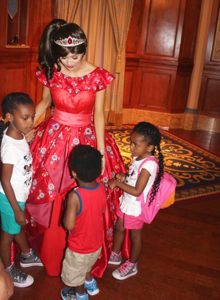 Orlando Vacation - Disney's Magic Kindgom Parkk - Princess Elena - At Home With Zan-