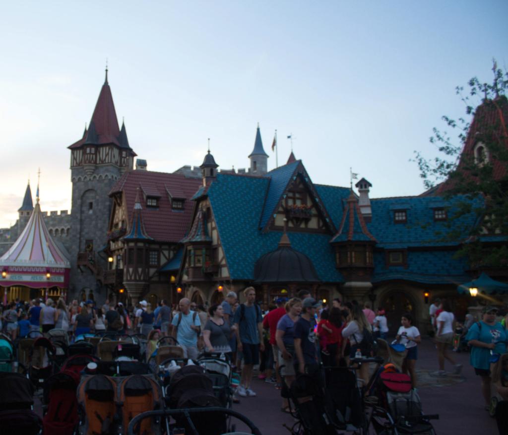 Orlando Vacation - Disney's Magic Kingdom - Evening View - At Home With Zan-