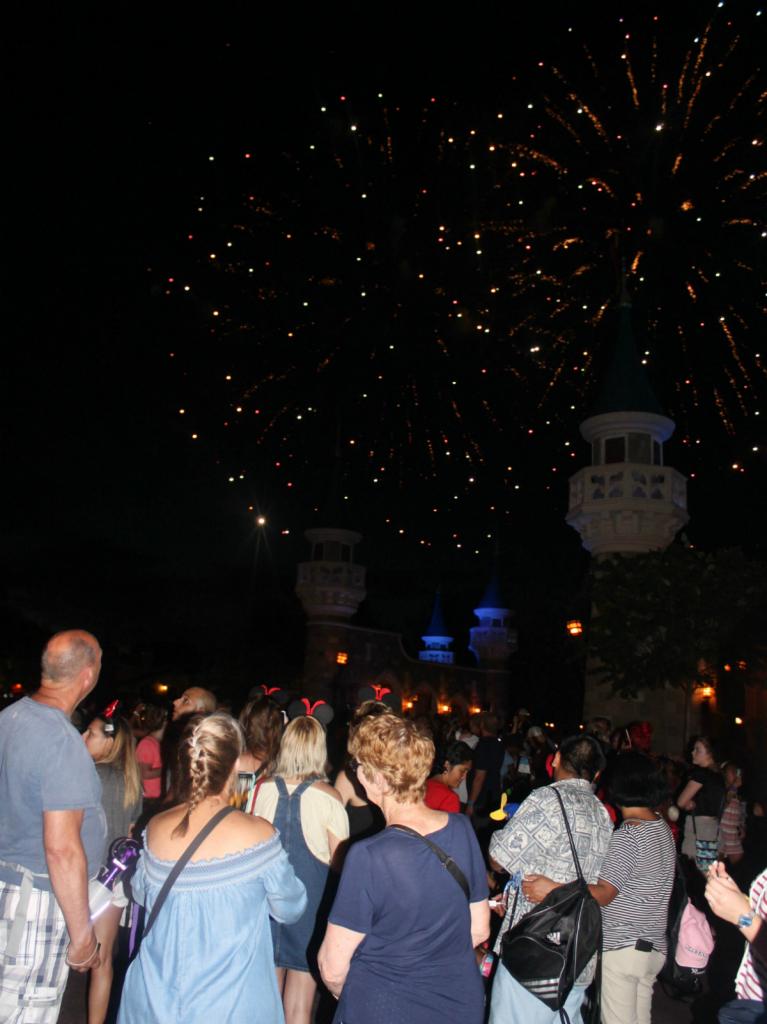 Orlando Vacation - Disney's Magic Kingdom - Fourth of July Fireworks - At Home With Zan-