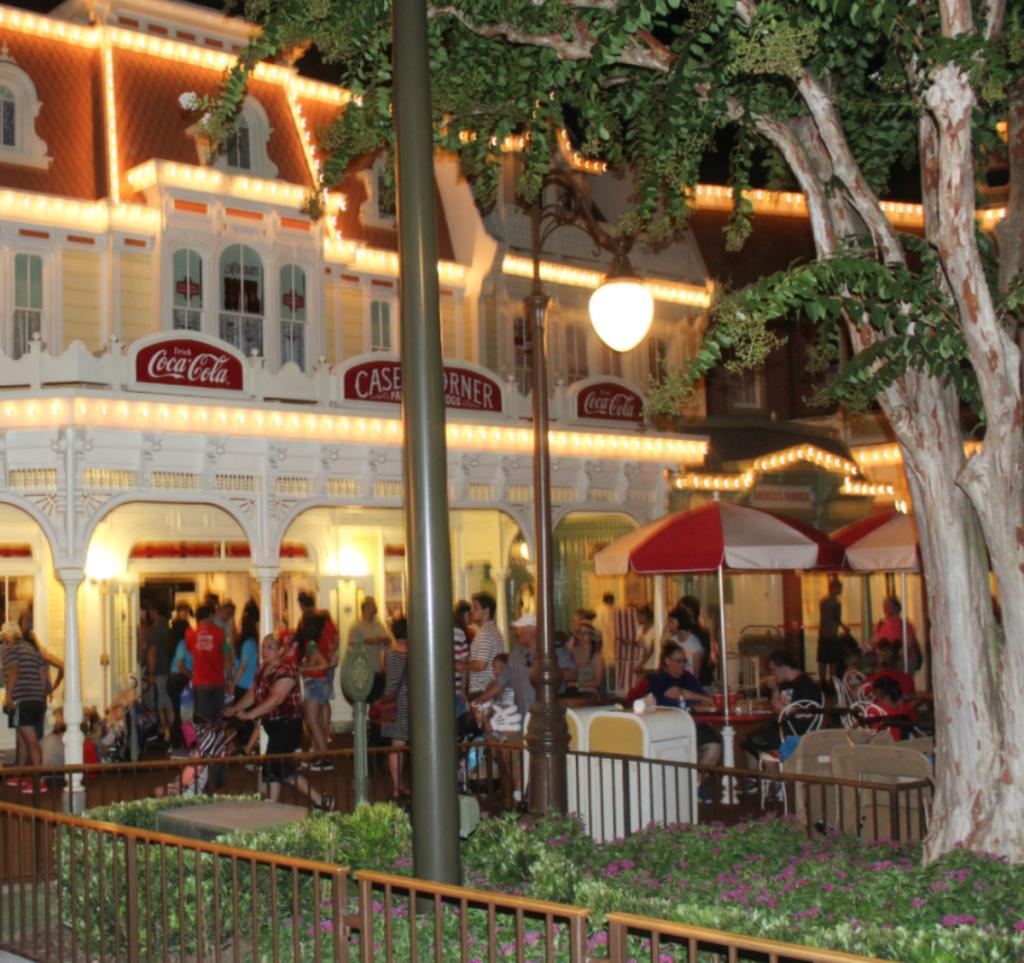 Orlando Vacation - Disney's Magic Kingdom - Night Views - At Home With Zan -