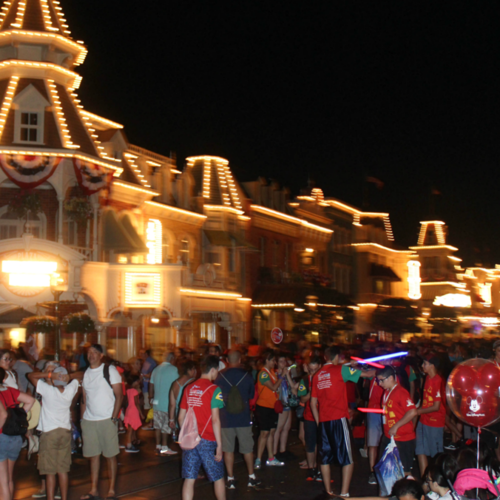 Orlando Vacation - Disney's Magic Kingdom - Night Views - Park - At Home With Zan