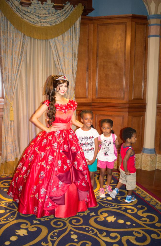 Orlando Vacation - Disney's Magic Kingdom - Princess Elena - At Home With Zan