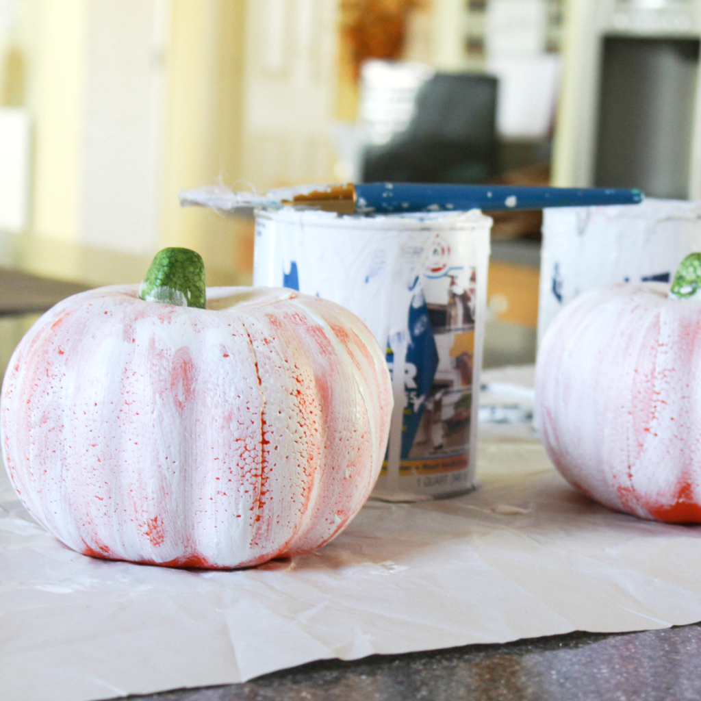 Painting Pumpkins - At Home With Zan