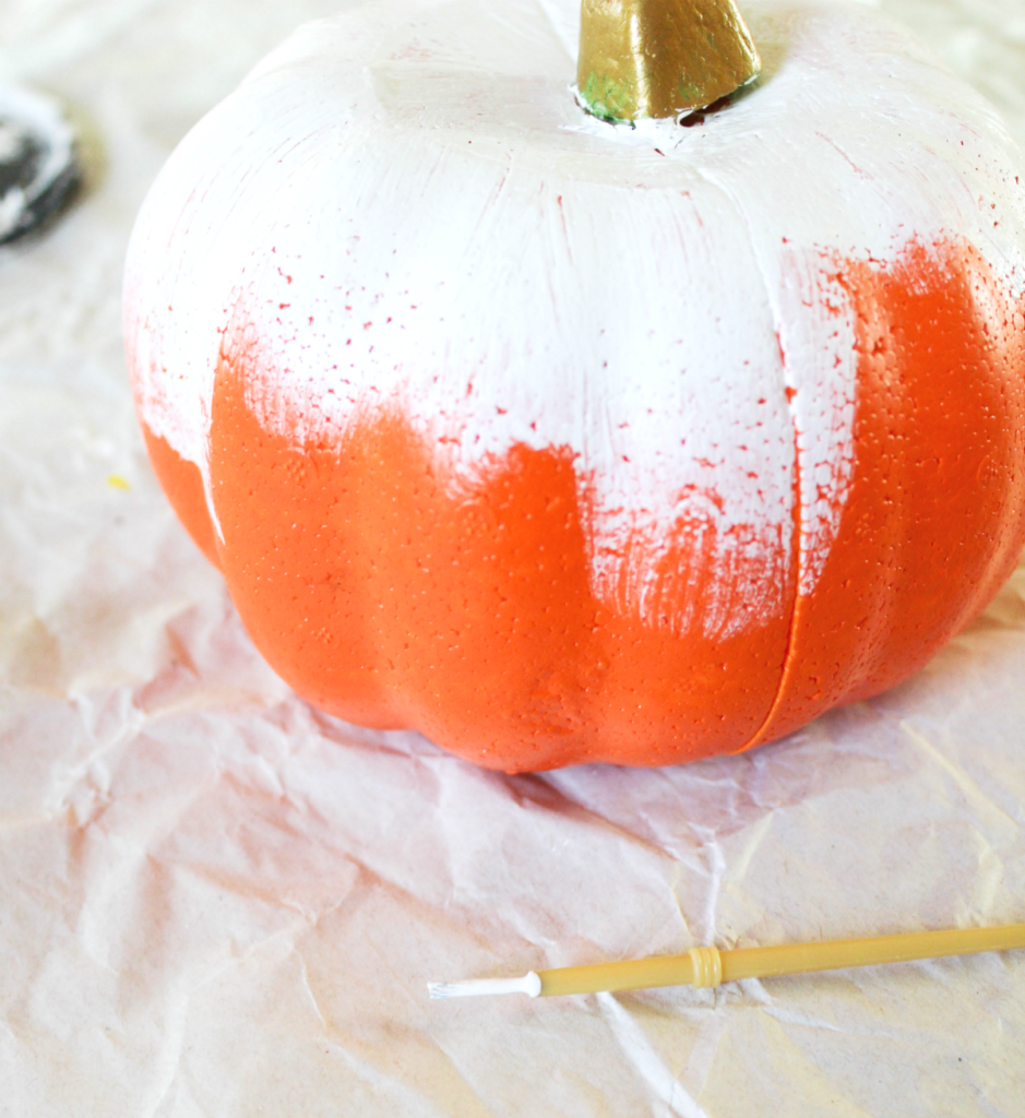 Painting Pumpkins with Stem- At Home With Zan
