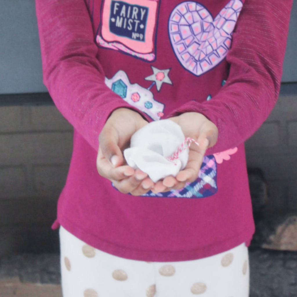 DIY Hand Warmers - Winter Hand Warmers - With Bean and Rice Fillers - For Kids - At Home With Zan