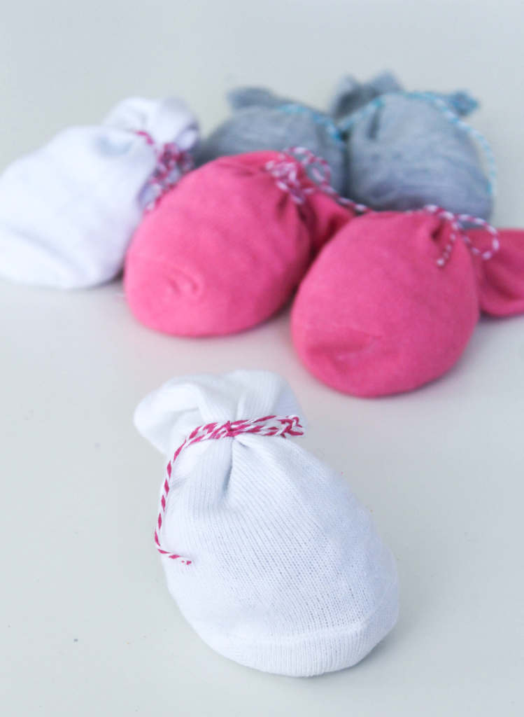 DIY Winter Hand Warmers - With Bean and Rice Fillers - For Kids - At Home With Zan-