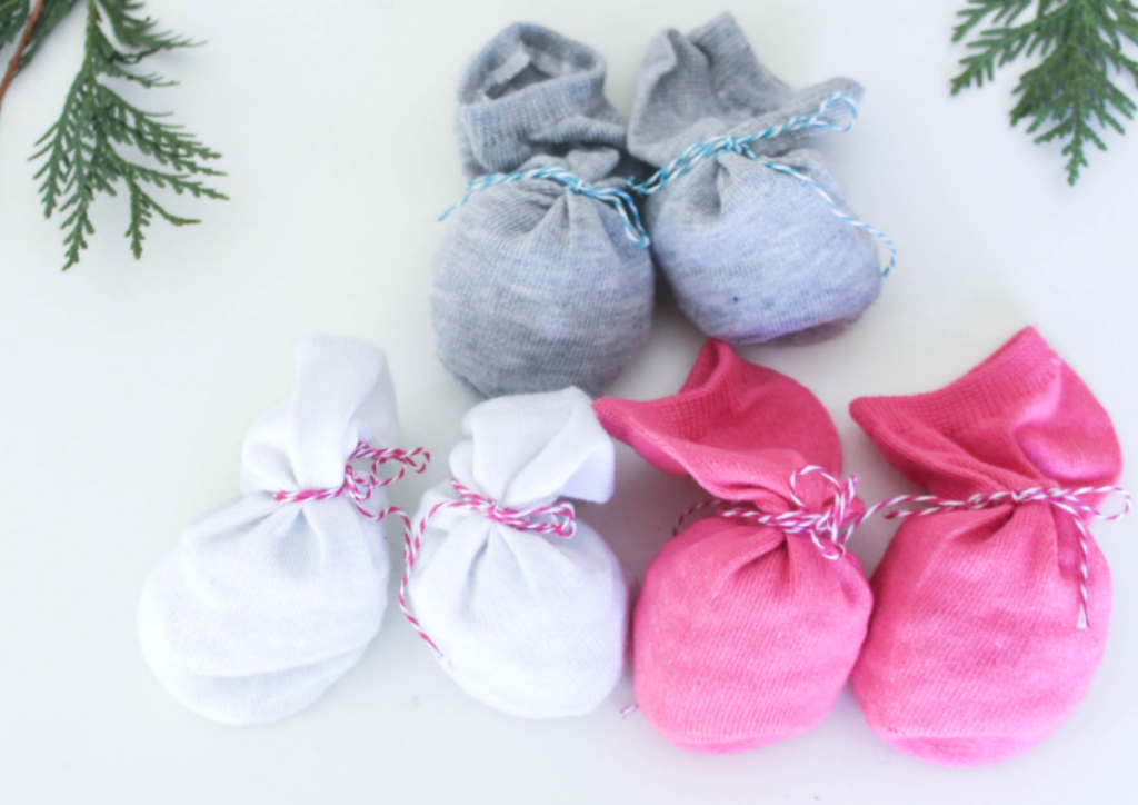 -DIY Winter Hand Warmers - With Bean and Rice Fillers - For Kids - At Home With Zan-
