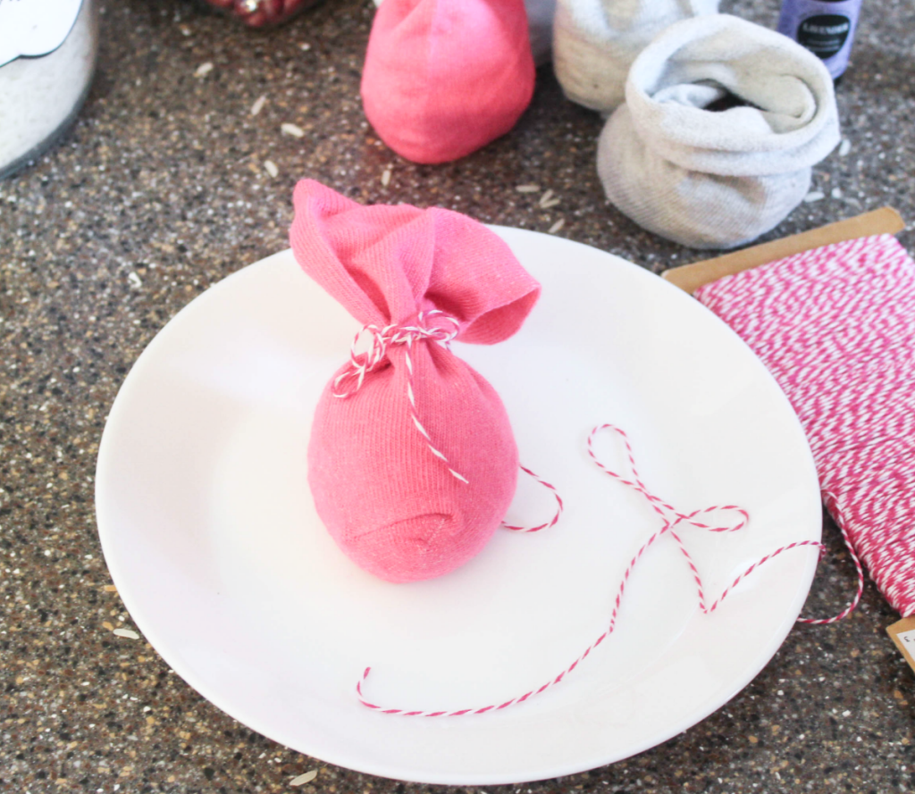 DIY Winter Hand Warmers - With Socks and Fillers - At Home With Zan-