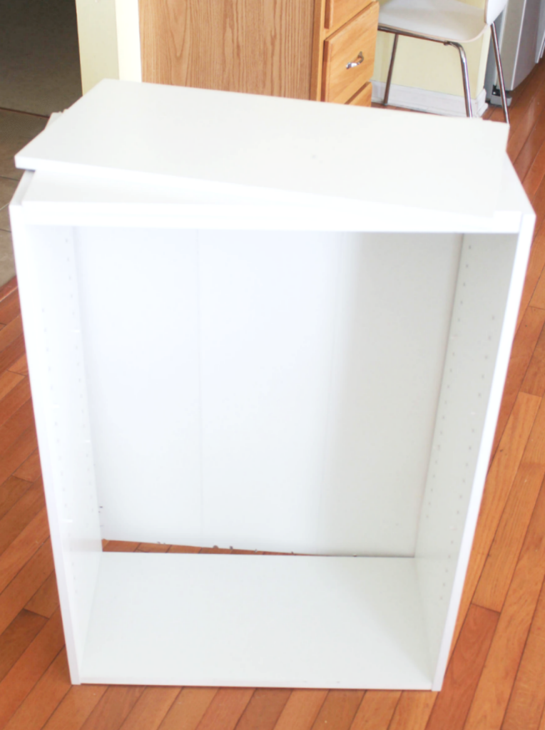 How to Restore a Broken Bookshelf - Small Bookshelf - At Home With Zan