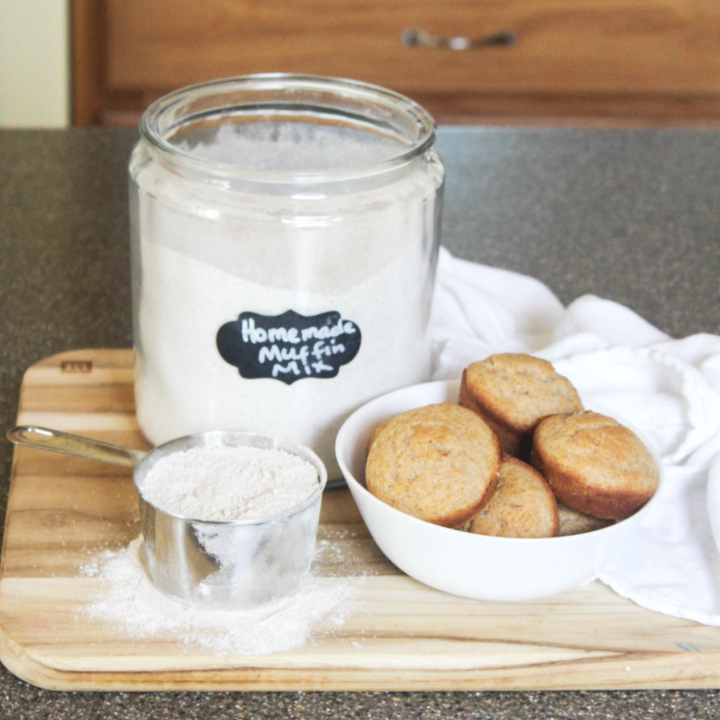 Homemade - Muffin Mix - At Home With Zan -