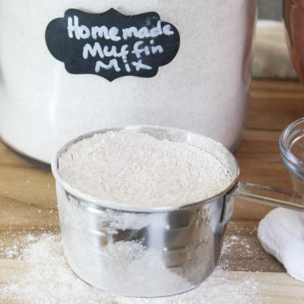 Homemade -Muffin Mix - At Home With Zan - At Home With Zan
