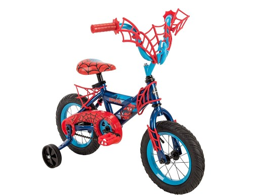 Boy Bike - Spiderman - 5 Year Old - At Home With Zan