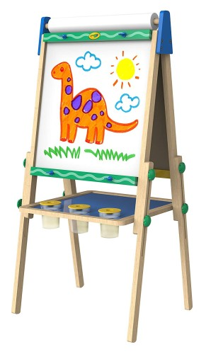 Crayola Kids Wooden Easel - Holiday Gift Guide for 3-5 Year Olds - At Home With Zan