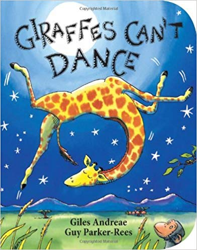 Giraffe Can't Dance Book - Holiday Gift Guide for 3-5 Year Olds - At Home With Zan