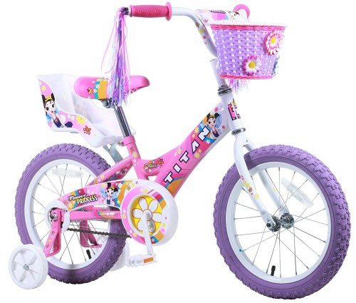 Girls Bike - 5 Year Old - At Home With Zan