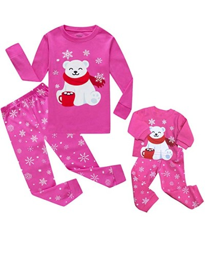 Girls PJs with Matching Doll Set - Holiday Gift Guide for 3-5 Year Olds - At Home With Zan