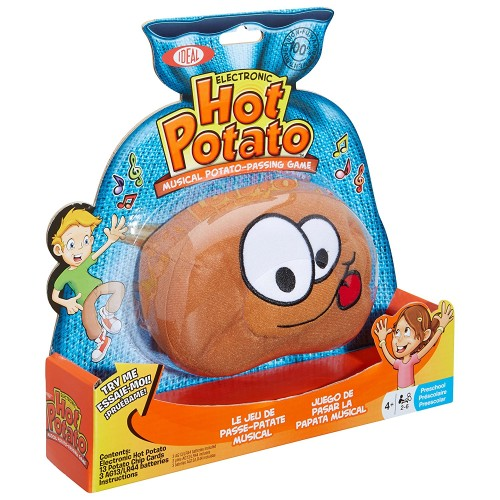 Hot Potato Game - Holiday Gift Guide for 3-5 Year Olds - At Home With Zan