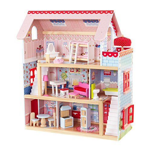 Kid Craft Doll House -Holiday Gift Guide for 3-5 Year Olds - At Home With Zan